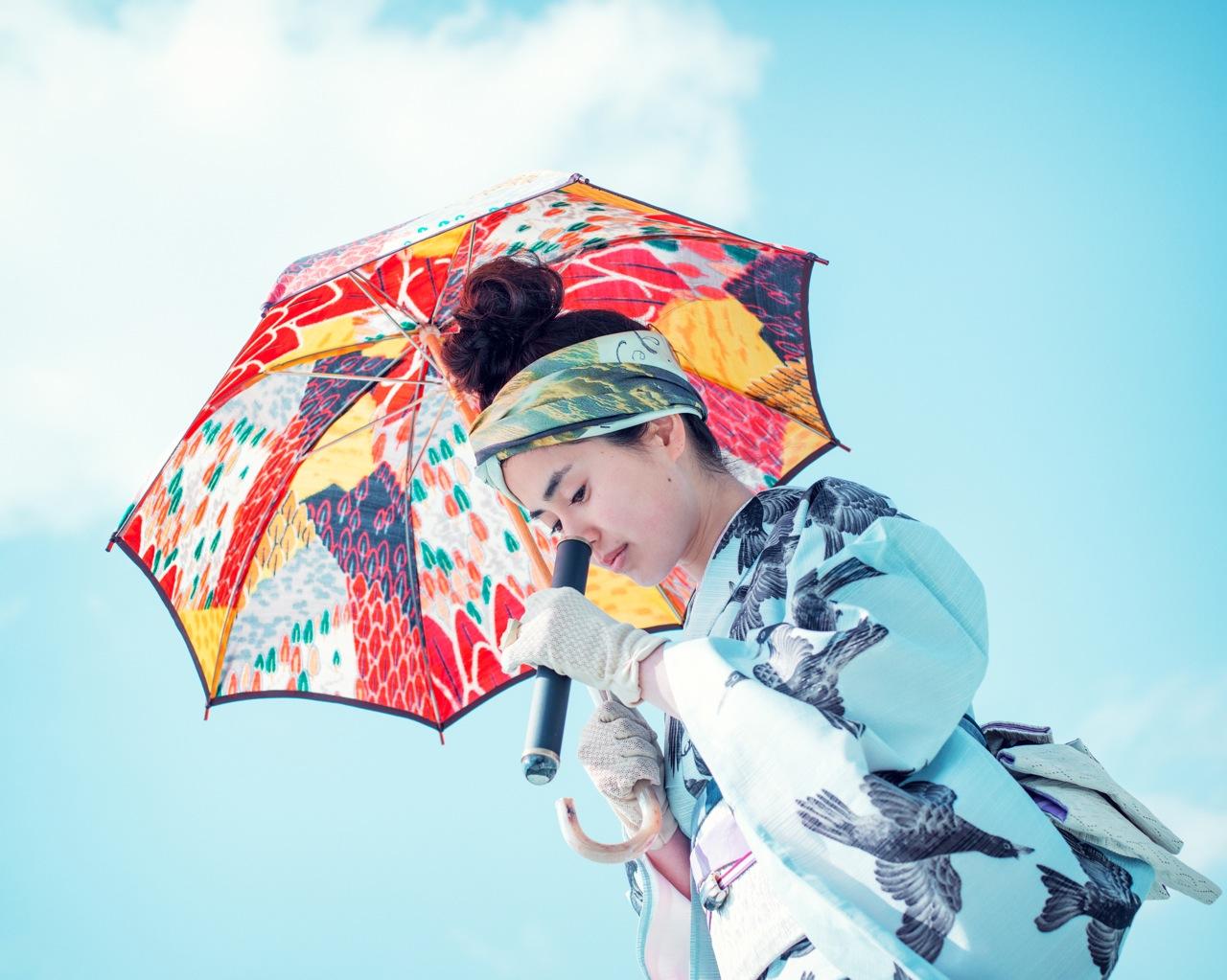 傘の花 または カレイドスコーピオ